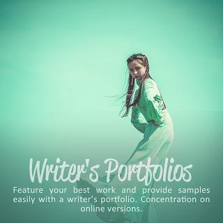 writers portfolio | Portfolio design | online portfolio