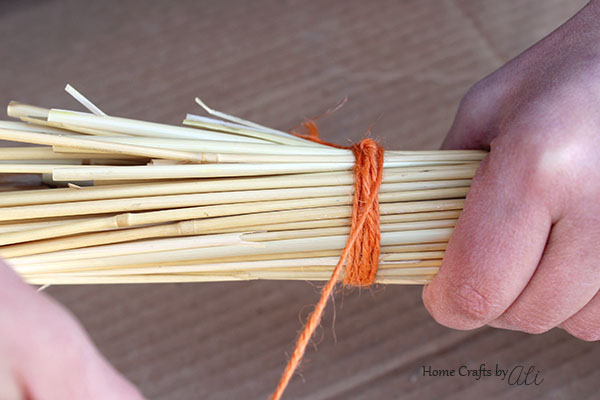 Easy to Make Broomstick Decorations for Fall or Halloween