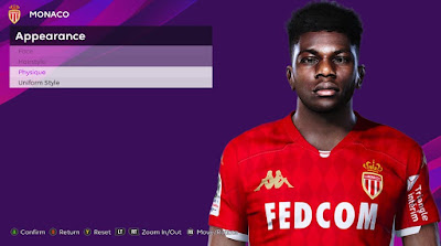 PES 2020 Faces Aurelien Tchouameni by Rachmad ABs