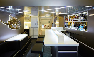 Virgin Australia's in-flight bar