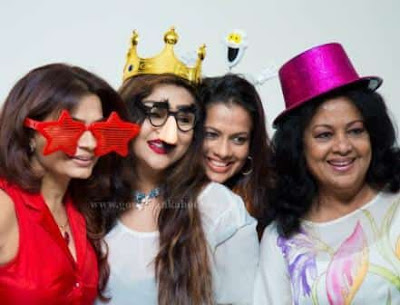 Actress Sangeetha Weeraratne Daughter birthday celebration