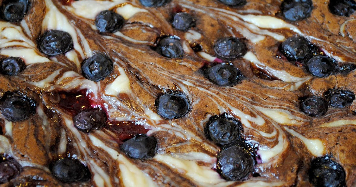 Bake Or Dare Red White Amp Blueberry Brownies