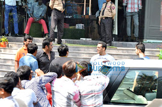 Salman Khan & Suniel Shetty snapped outside Being Human store