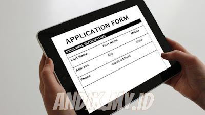 Melamar kerja online melalui website lowongan kerja