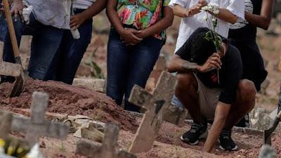 Brazil Pecahkan Record Angka Kematian Tertinggi Covid-19 di Dunia