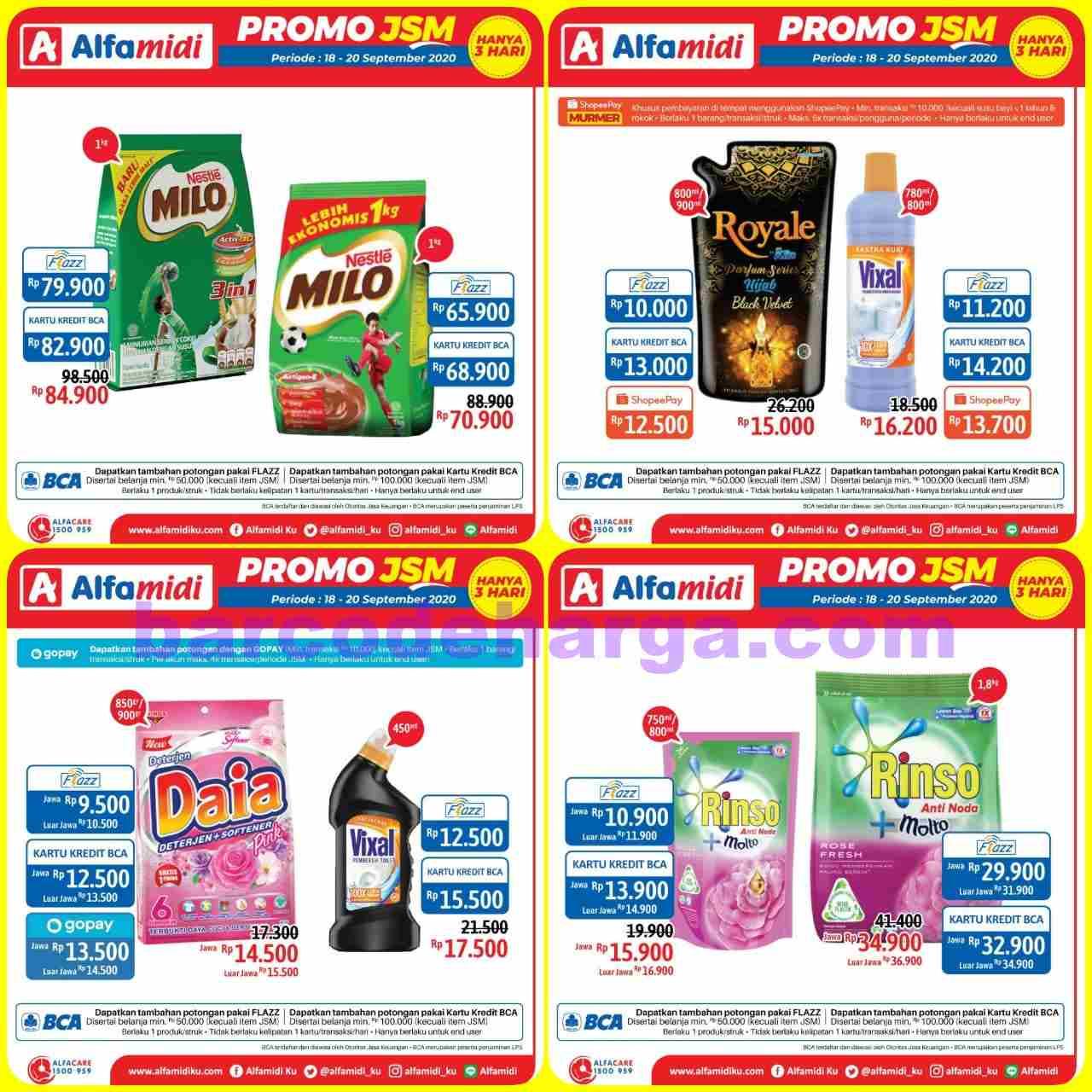 Katalog Promo JSM Alfamidi Akhir Pekan 18 - 20 September