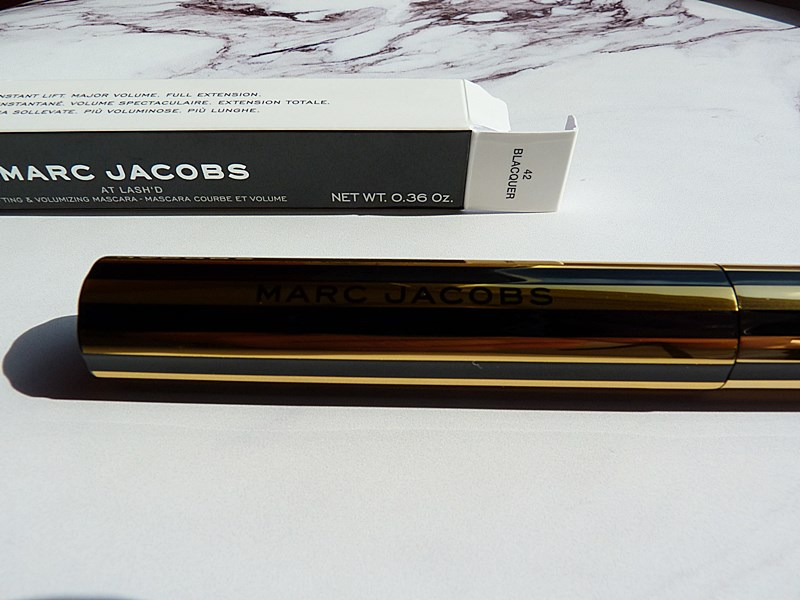 At Lash'd Mascara Marc Jacobs Beauty Golden Collection
