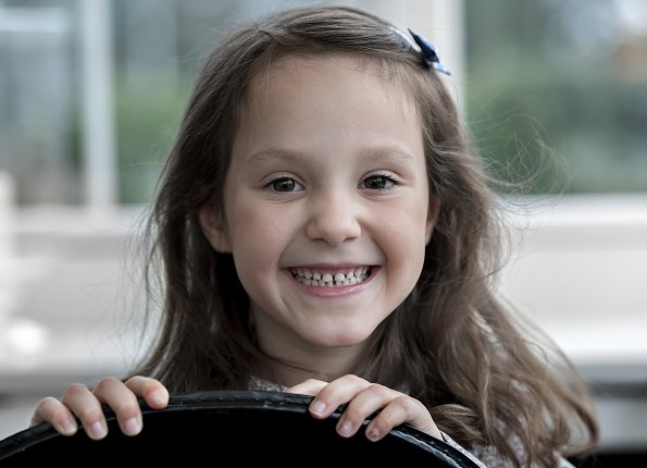 Princess Athena is the youngest child of Prince Joachim and Princess Marie of Denmark