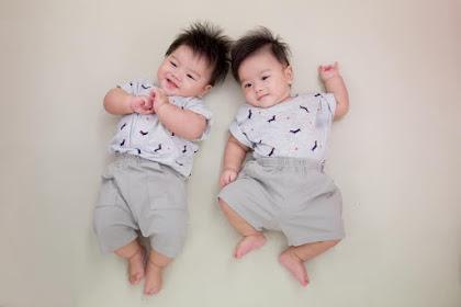 Tips Cara Membuat Sepasang Bayi Kembar Lucu