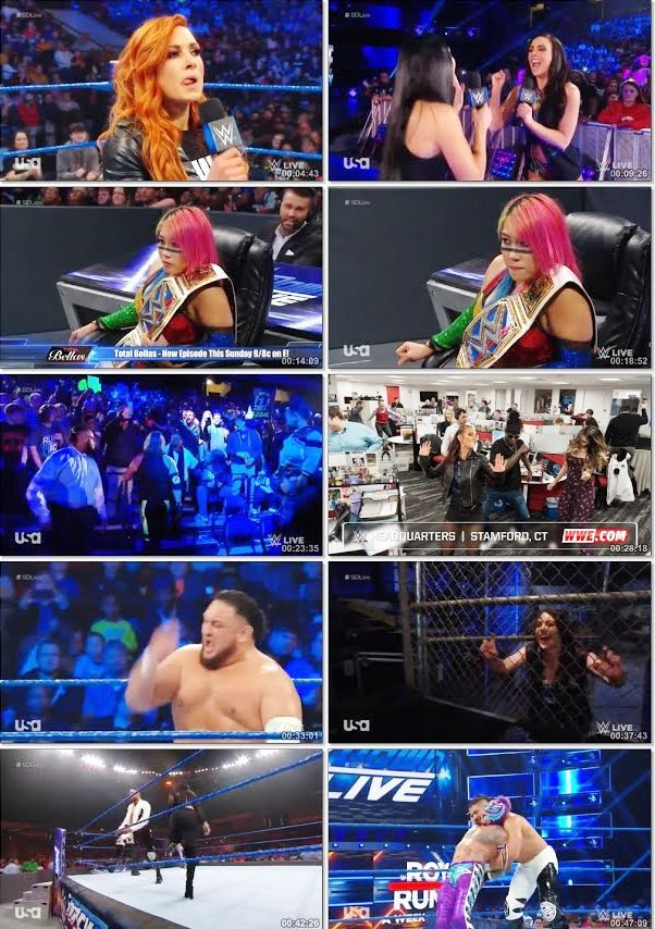 WWE Smackdown Live 15 January 2019 Full Show 720p HDRip 1GB Download