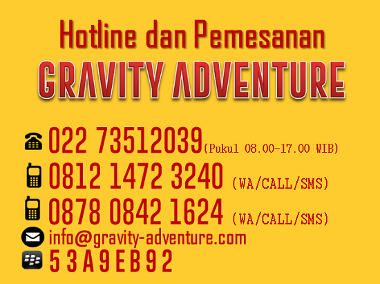 PAKET OUTBOUND PANGALENGAN GRAVITY ADVENTURE