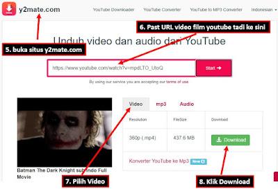 panduan download movie di internet youtube