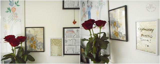 róża ramki