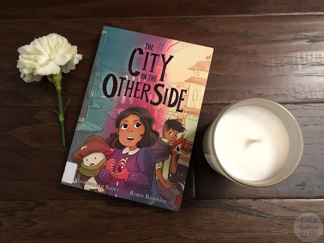 Graphic Novel Review of The City on the Other Side by Mairghread Scott, illustrated by Robin Robinson