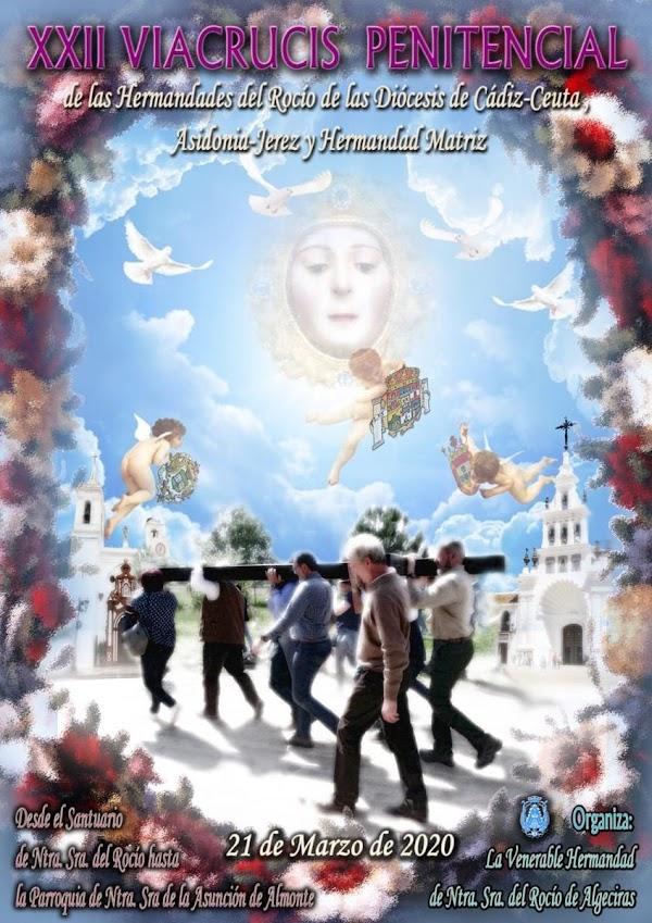 XXII Vía crucis de las Hdes del Rocío de las provincias de Cádiz y Ceuta