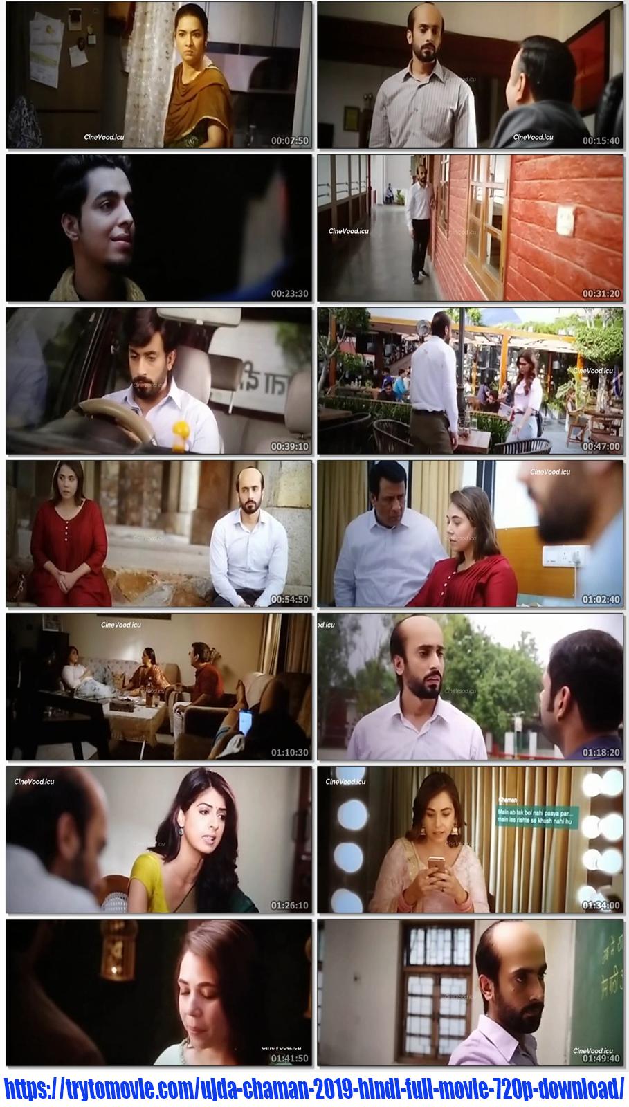Ujda Chaman 2019 Hindi Full Movie 720p Download