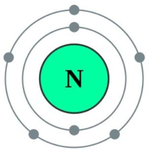 nitrogen valence electrons