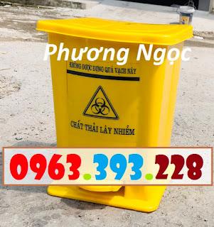 Thùng đựng rác y tế đạp chân, thùng rác nhựa đạp chân, thùng rác y tế, thùng rác D0dd35f9b9615f3f0670