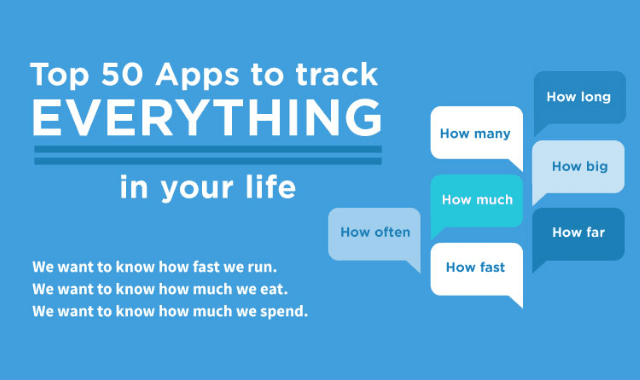Top 50 Apps To Track Everything In Your Life