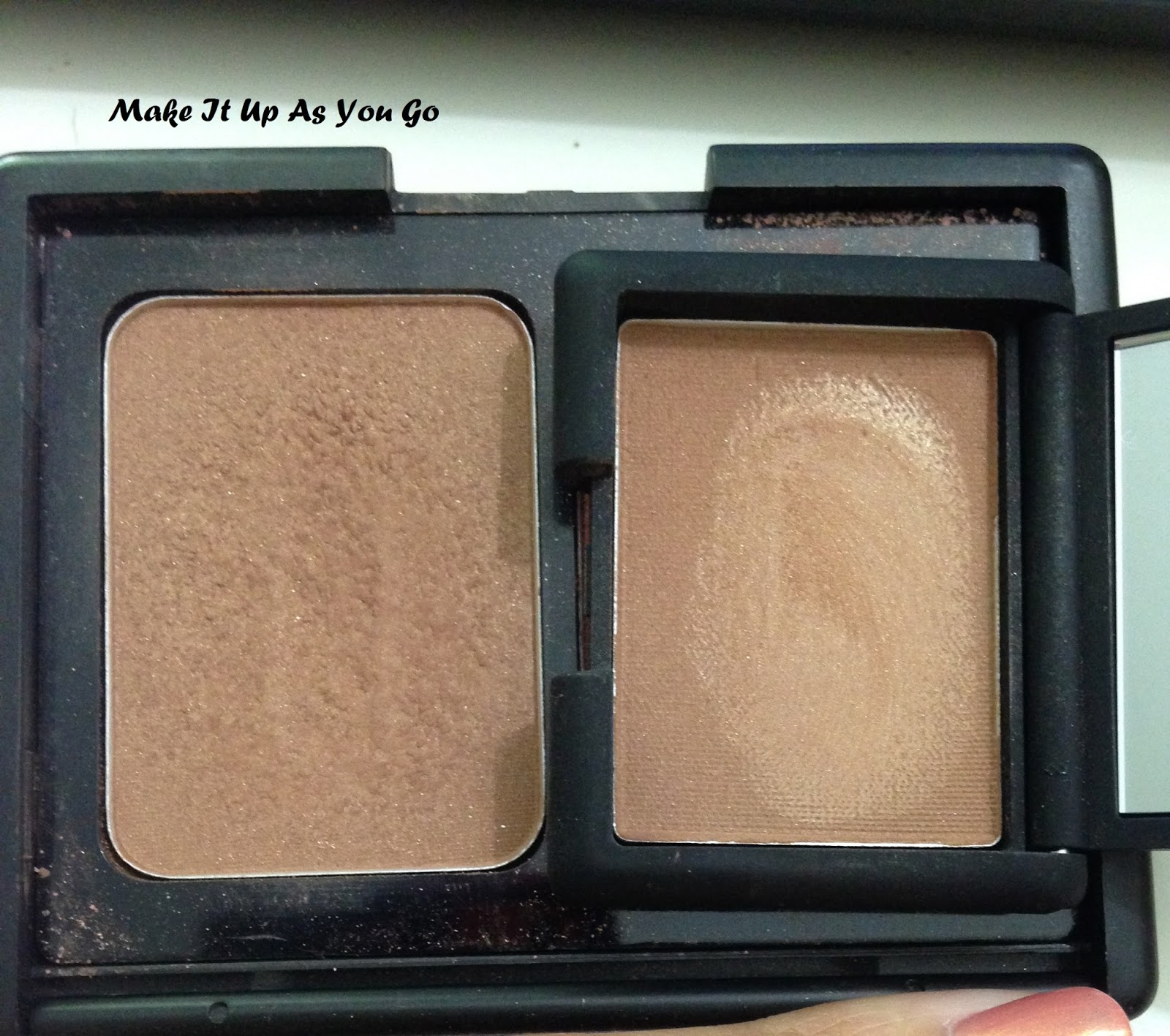 Make It Up As You Go: Quickie Review - NARS Laguna Bronzing Powder