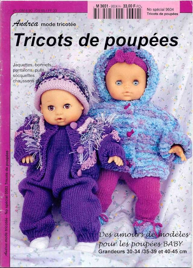 Andrea Tricô Bonecas N°9604 -Revista