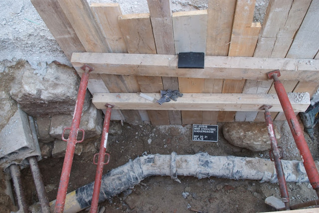 Remains of Roman gate uncovered in downtown Vienna