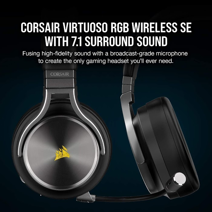 Corsair Virtuoso RGB Wireless SE Gaming Headset