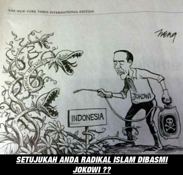 Pemerintah Sedang Lakukan Pembersihan Islam Radikal