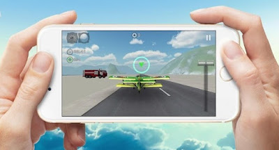 Game Simulasi Menerbangkan Pesawat di Android