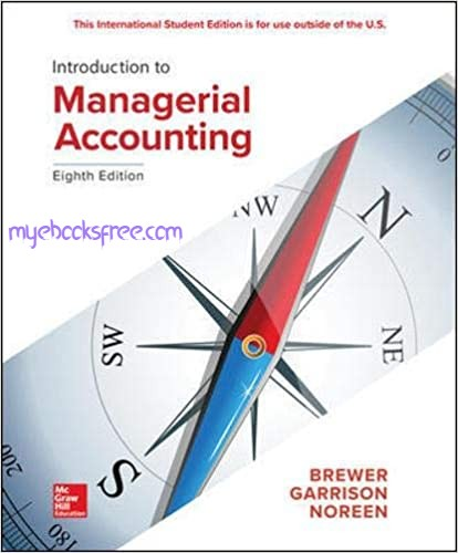 Introduction to Managerial Accounting Pdf Book Download