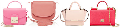One of these pink mini crossbody bags is from Street Level for $38 and the other three are from designers for more than $500. Can you guess which one is the more affordable bag? Click the links below to see if you are correct!