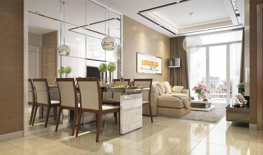 Thiết kế nội thất căn hộ Vincity Tây Mỗ