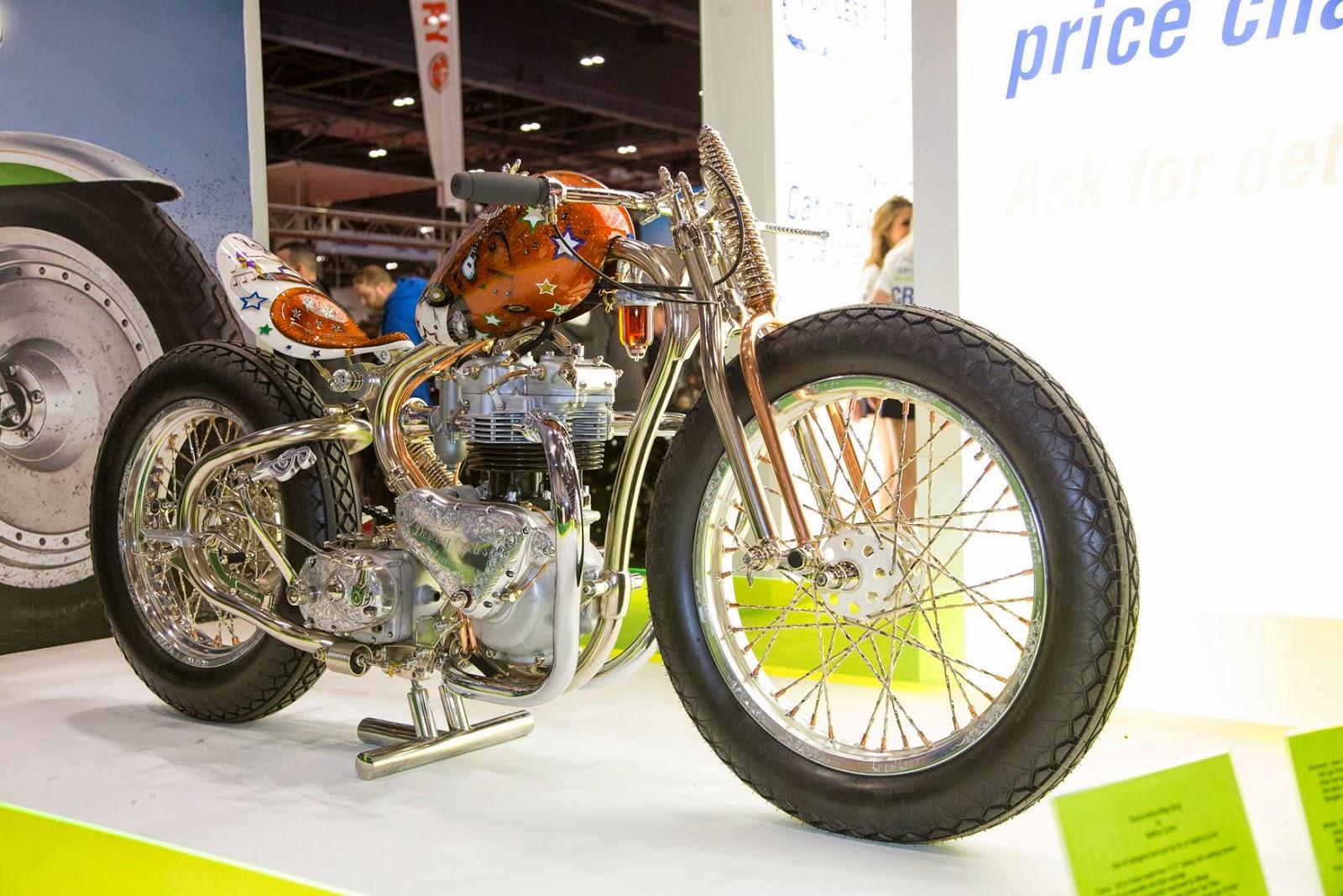 Pemenang motor custom London motorcycle show