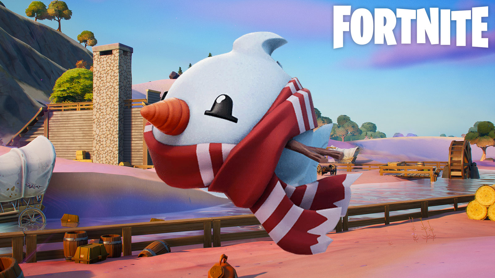 Where to Catch a Snow Fish in Fortnite