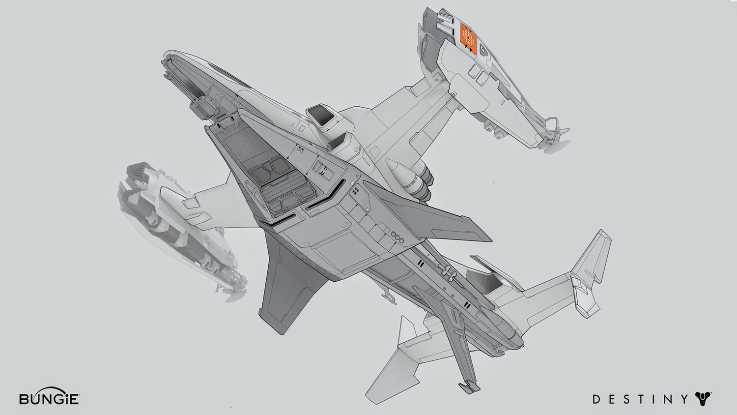 destiny space ship -concept