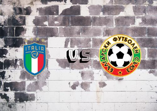 Italia vs Bulgaria  Resumen y Partido Completo