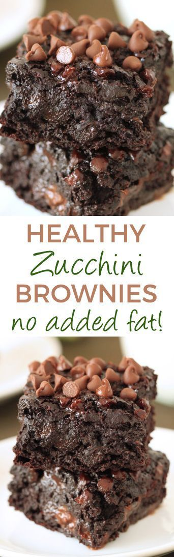 Zucchini Brownies (gluten-free, whole grain, dairy-free options)