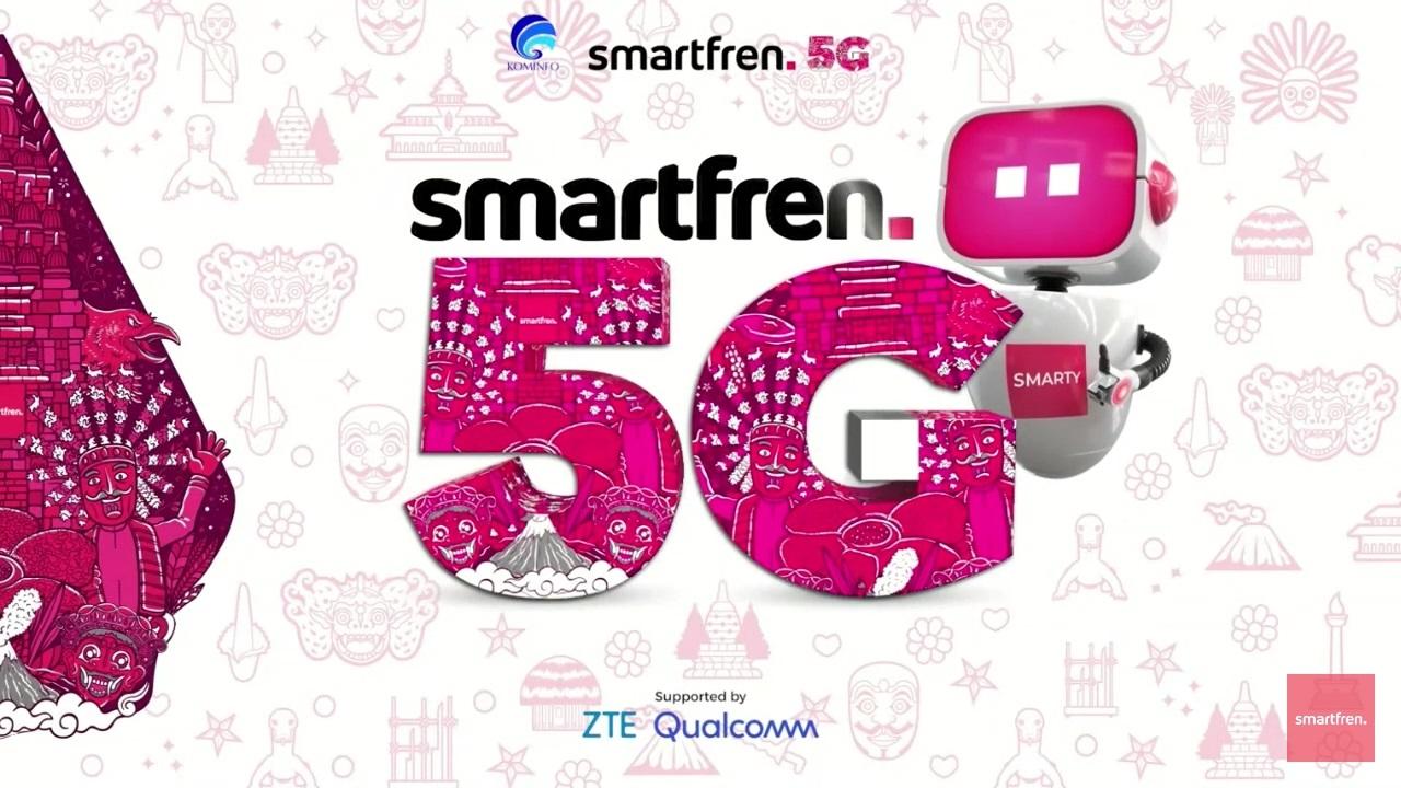Smartfren Uji Coba Teknologi 5G Bareng Kominfo dan Begini Hasilnya