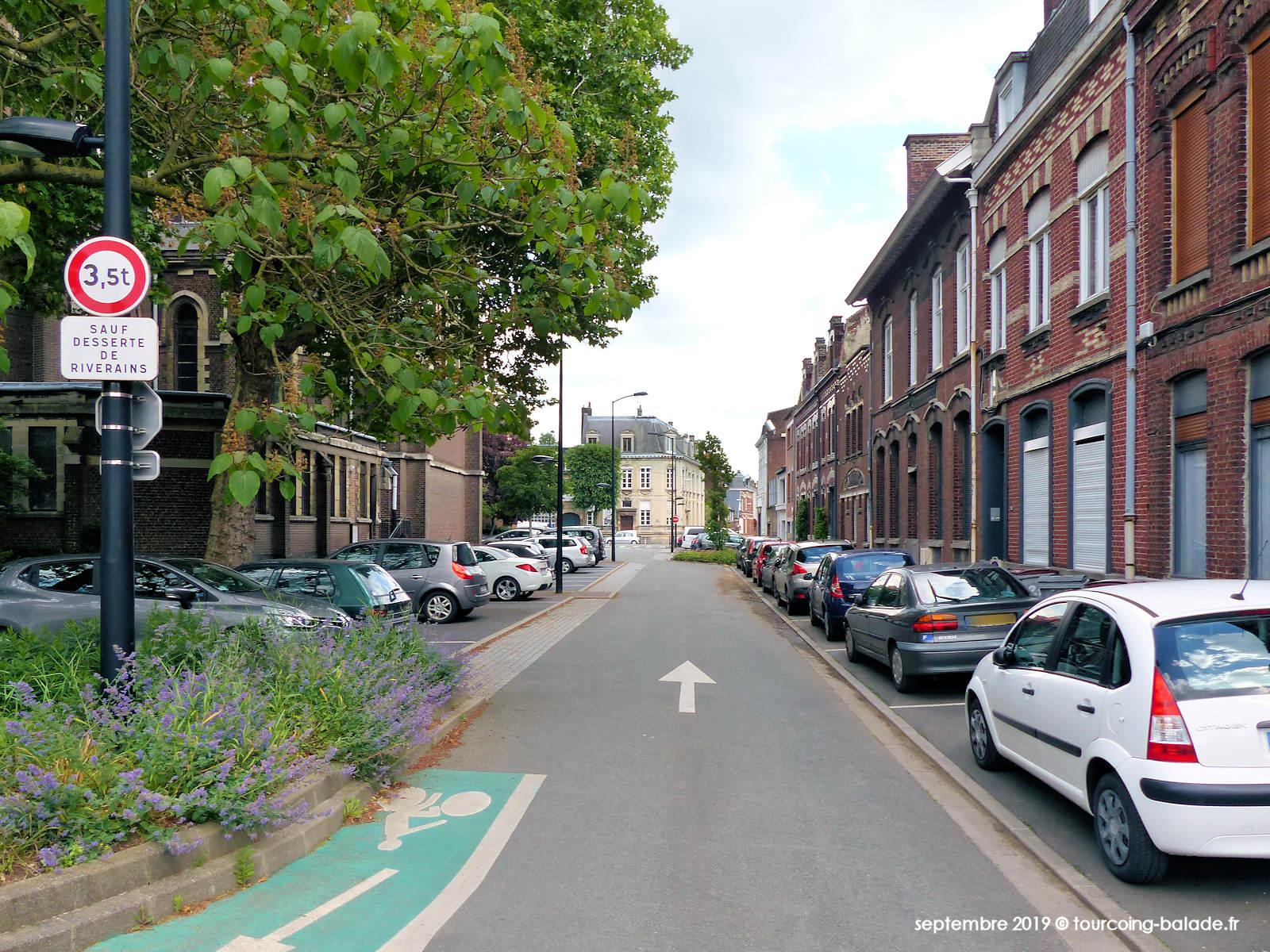 Rue Saint Vincent de Paul, Tourcoing 2019