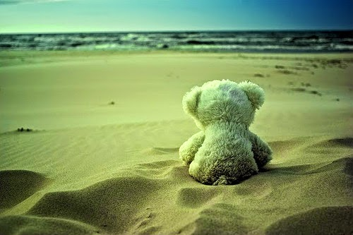 Teddy-sad-love-break-up-in-beach-sea-sand-picture-image.jpg
