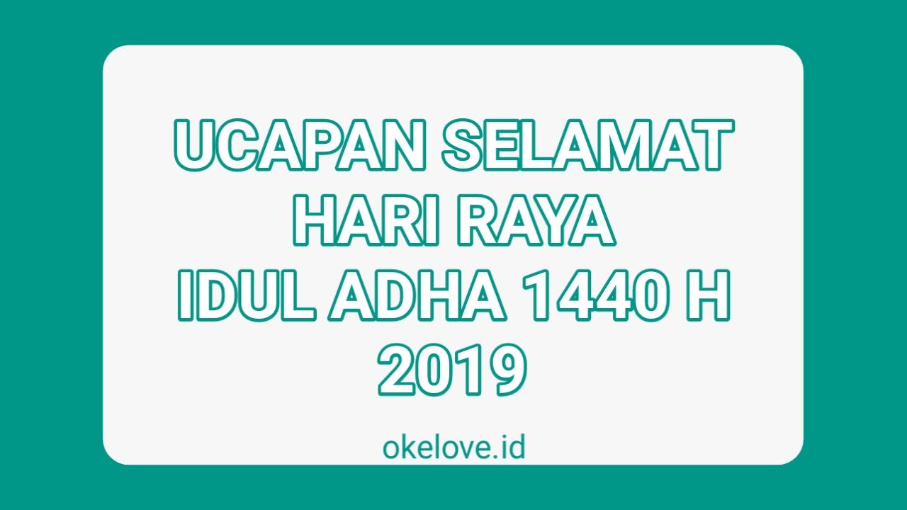 Kata Ucapan Selamat Hari Raya Idul Adha 2019
