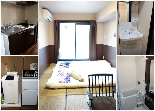 Kyoto Travel with kids apartment hotel