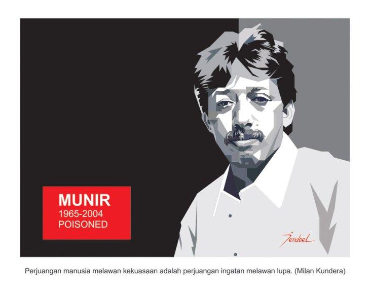 100 Tokoh Demokrasi Desak Jokowi Usut Aktor Intelektual Pembunuhan Munir