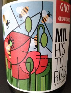 Notre vin de la semaine est ce bien bon rouge bio fait de grenache !