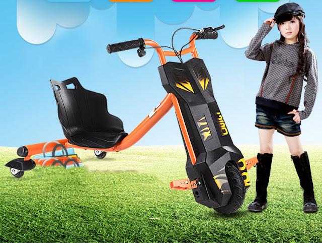 Xe diện 3 Bánh Drift Scooter trẻ em