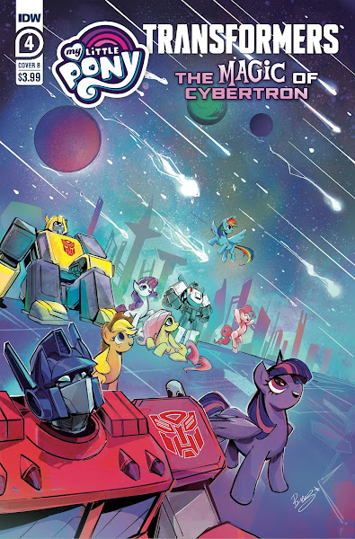 My Little Pony Transformers: The Magic of Cybertron - Comic #4 cover b