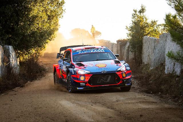 Dani Sordo on Rally Sardinia