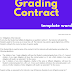 grading contract template exemple word