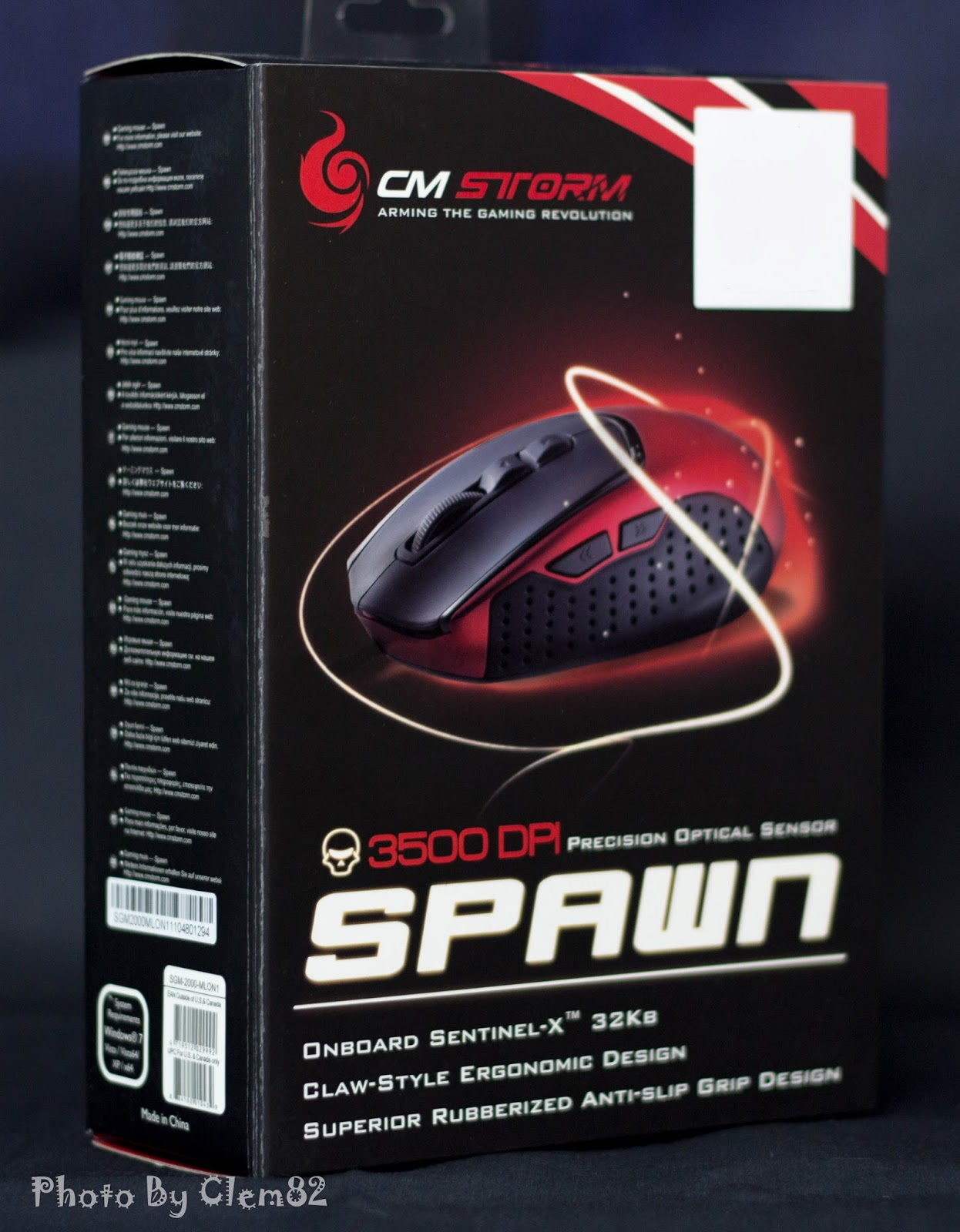 Unboxing & Review - Cooler Master Storm Spawn 29
