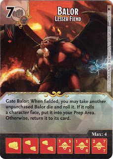D/&D DICE MASTERS Faerun Under Siege 108 Balor